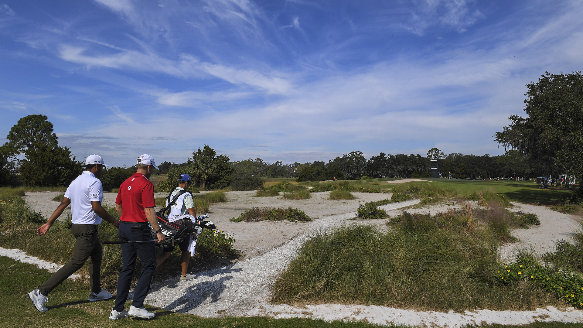 pga tour  korn ferry tour players to team up this week in