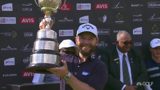 Grace wins South African Open, punches ticket to The Open