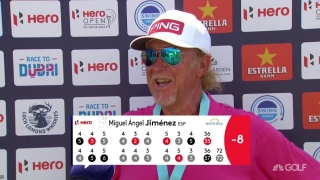 Jimenez (72) plans for the weekend at Hero Open