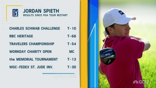 Once again, Spieth has a shot at career Grand Slam