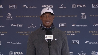 Woods on how the cold, 'heavy' weather will affect play