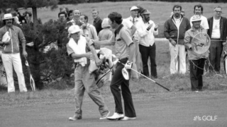 Irwin's caddie from '74 U.S. Open win back at Winged Foot