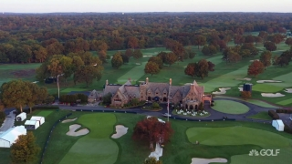 Diaz: Finishing approach invites great shot ... Winged Foot's clubhouse