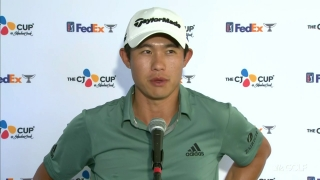 Morikawa (65) minimized mistakes in Rd. 2 at CJ Cup