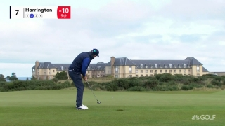 Eagle! Harrington drops long shot on par-4 seventh