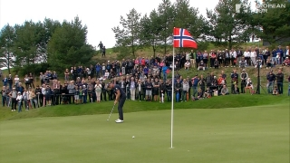 Highlights: Stenson (62) chasing Fitzpatrick (65) in Sweden