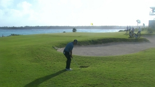 Players battle wind in Round 2 of Bahamas Great Exuma Classic
