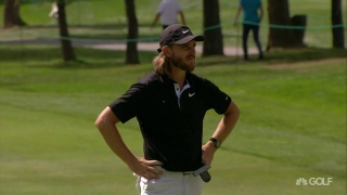 Fleetwood fighting to get the job done at European Masters