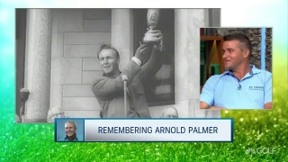 Saunders: Special time spent with grandfather Arnie