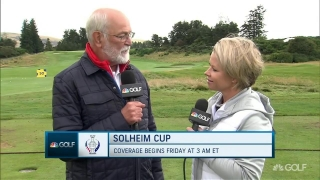 McDonald replaces Lewis on U.S. Solheim Cup team