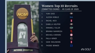 Women's golf: Top 10 recruits and top 5 recruiting classes