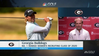 Georgia coach Brewer: 'Golf nerd' Holpfer fell in love with Bulldogs