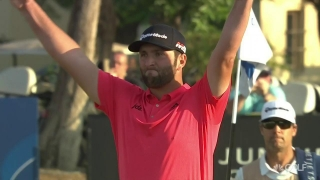 Highlights: Rahm loses 6-shot lead, seals Race to Dubai title with birdie on No. 18