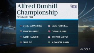 2020 Race to Dubai begins with Alfred Dunhill Championship