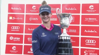 Van Dam (70) successfully defends Ladies Spanish Open