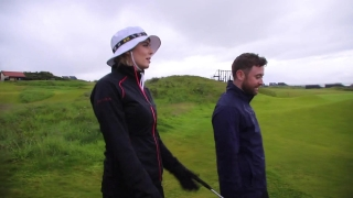Conor Moore plays near home at Royal Portrush