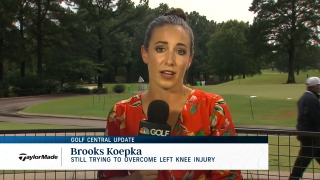 Golf Central Update: Koepka still trying to overcome knee injury