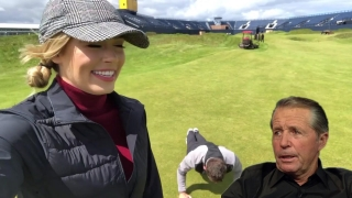 Conor Moore impressions at Royal Portrush