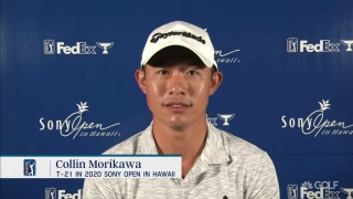 Morikawa: Masters fan limit 'really exciting' sign