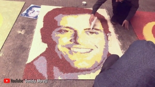 Grill Room: The making of that amazing Molinari sprinkle mural