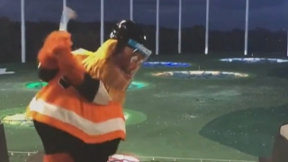 Grill Room: Is Flyers' mascot Gritty really Bryson DeChambeau?