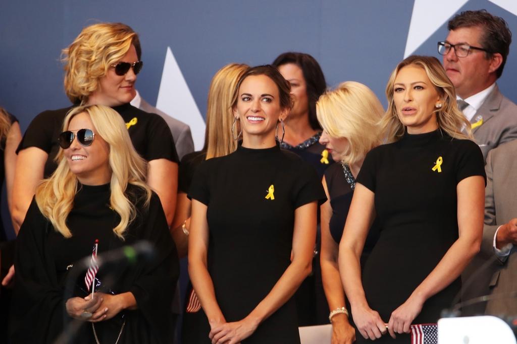 Jena Sims and Paulina Gretzky