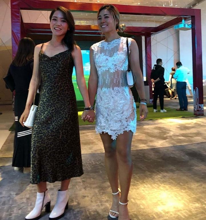 Lydia Ko and Danielle Kang