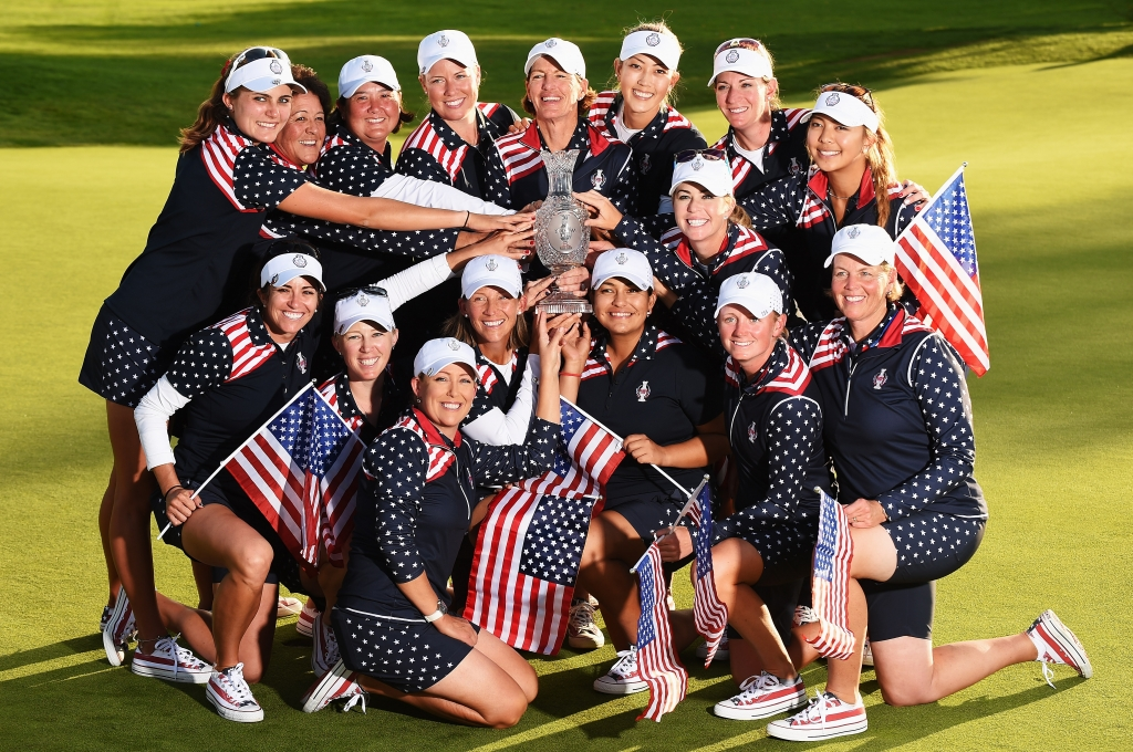 U.S. fights back to beat Germany in 2015 Solheim Cup