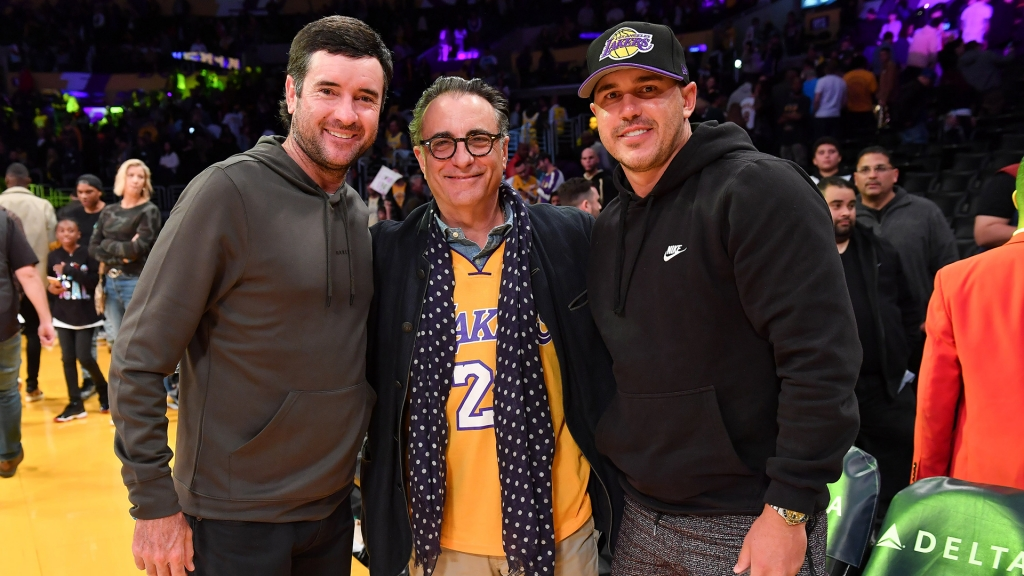 Bubba Watson, Andy Garcia and Brooks Koepka