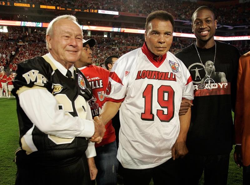 Arnold Palmer, Muhammad Ali, Dwayne Wade