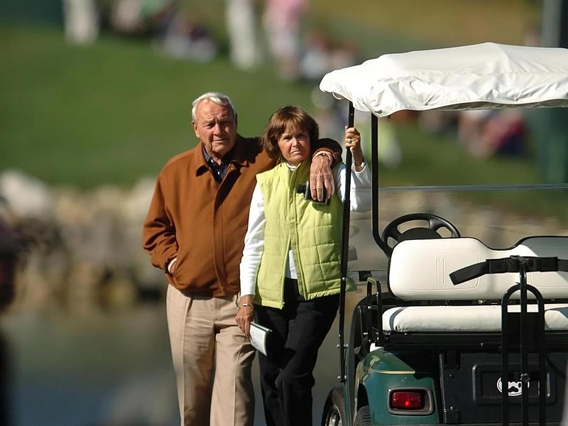 Arnold and Kit Palmer