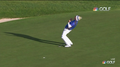 Winning putt: Pettersen clinches the Solheim Cup for Europe