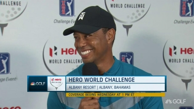 Tiger: My fire to win hasn't changed.. it's how I go about it