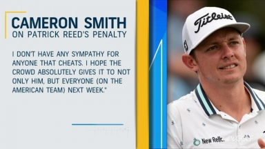Smith on Reed's penalty: 'I don't have any sympathy for anyone who cheats'