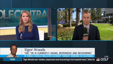 LA Sheriff: Tiger's crash, 'purely an accident'