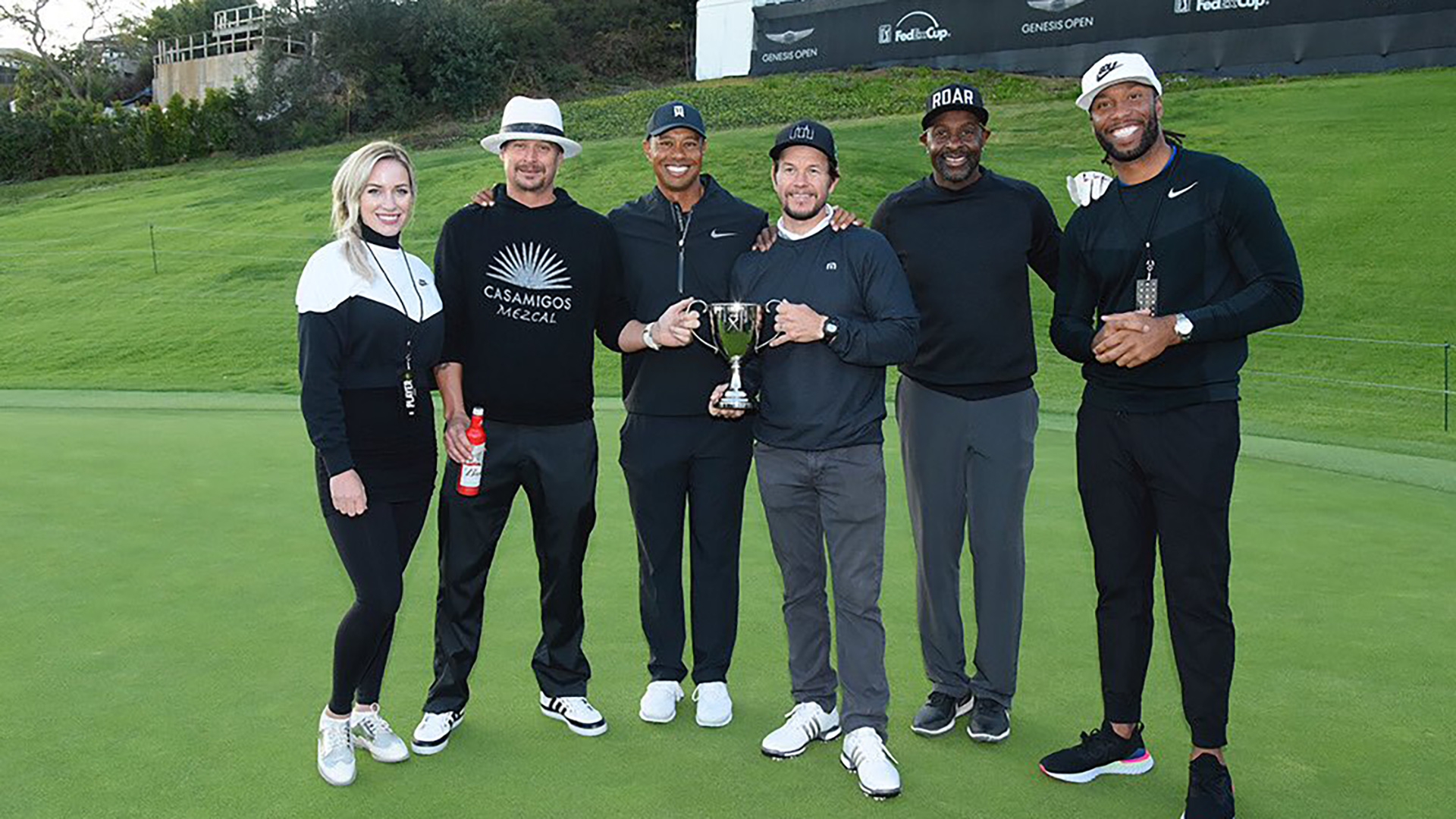 Team Eldrick at the 2019 Genesis Open