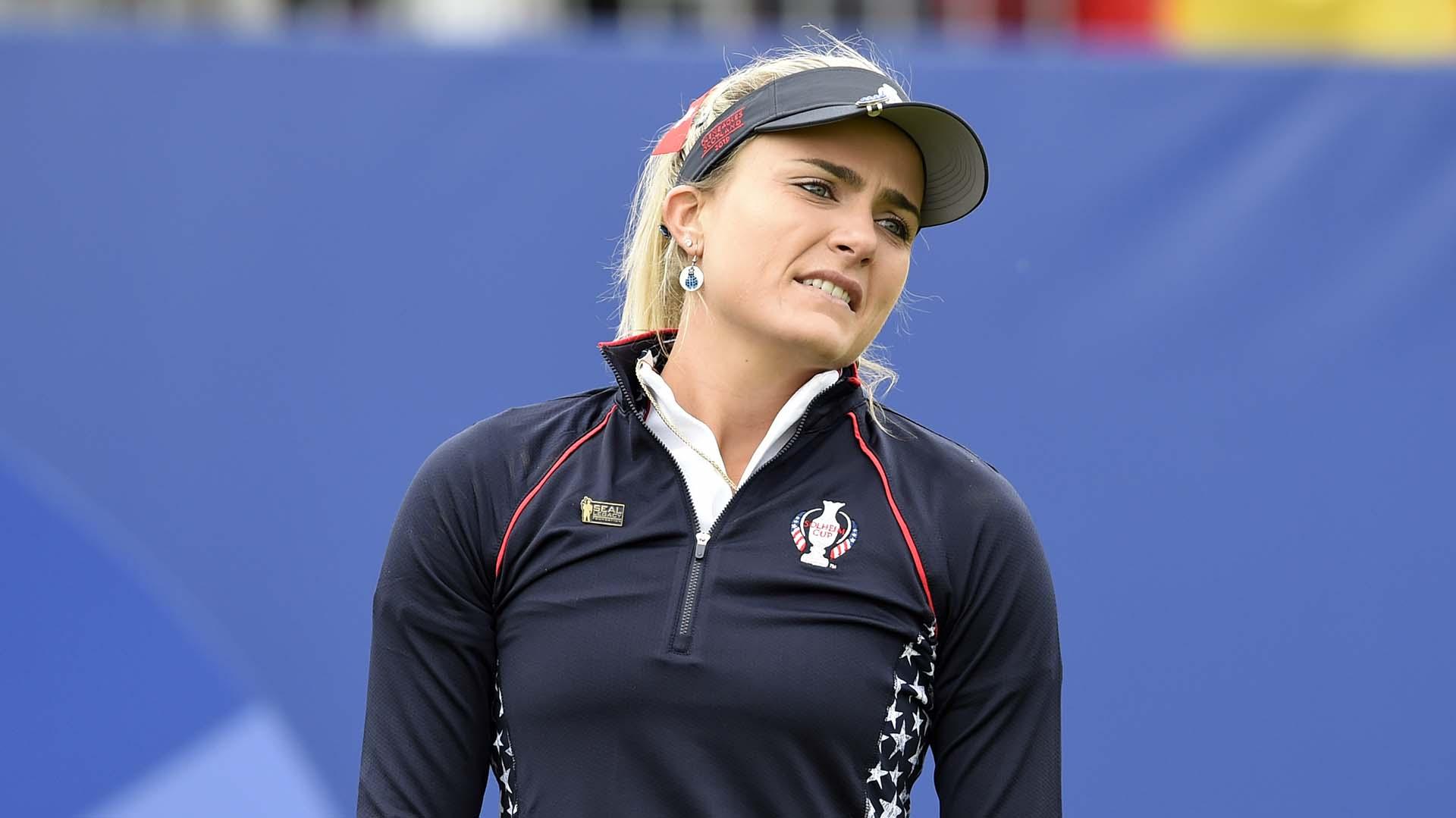 Lexi Thompson tweaks back in Solheim Cup warmup   Golf Channel
