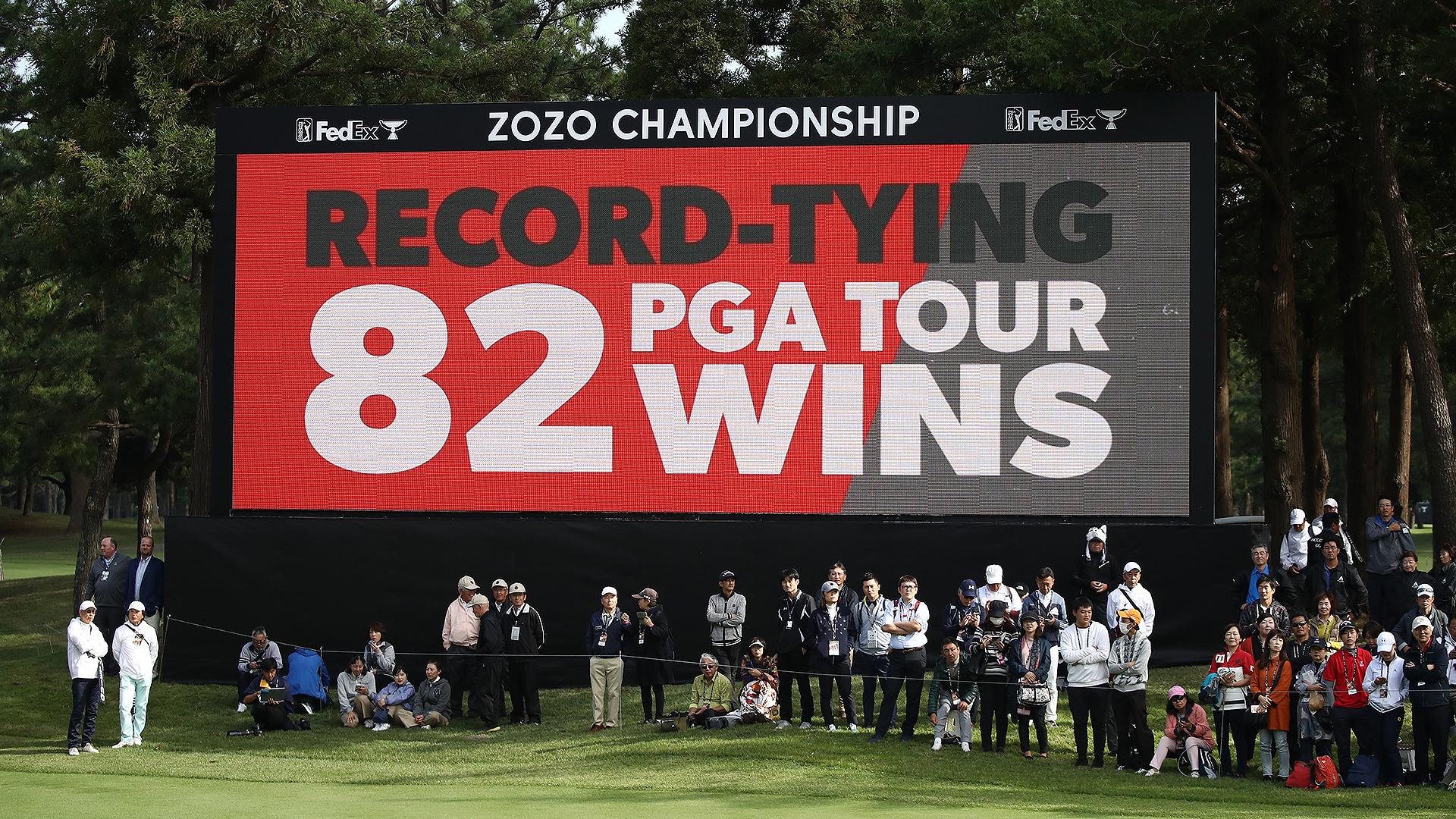 Stats: Tiger Woods' 82 wins vs. Sam Snead's 82 wins | Golf ...