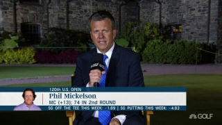 Lewis: Phil 'appreciative' of the chance to compete at Winged foot again