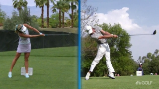 GOLFTEC: How to drive far like Lexi and JT