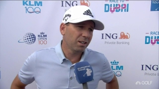 Garcia (68) 'playing through' neck issue at KLM Open