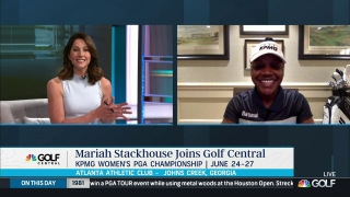 Mariah Stackhouse previews KPMG Women's PGA Championship