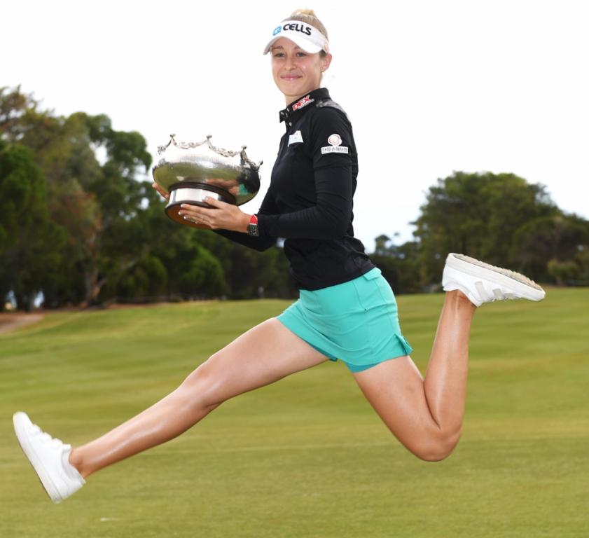 ISPS Handa Women's Australian Open: Nelly Korda