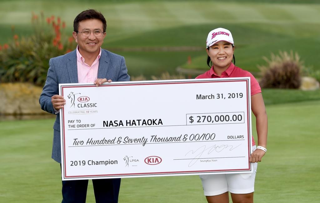 Kia Classic: Nasa Hataoka