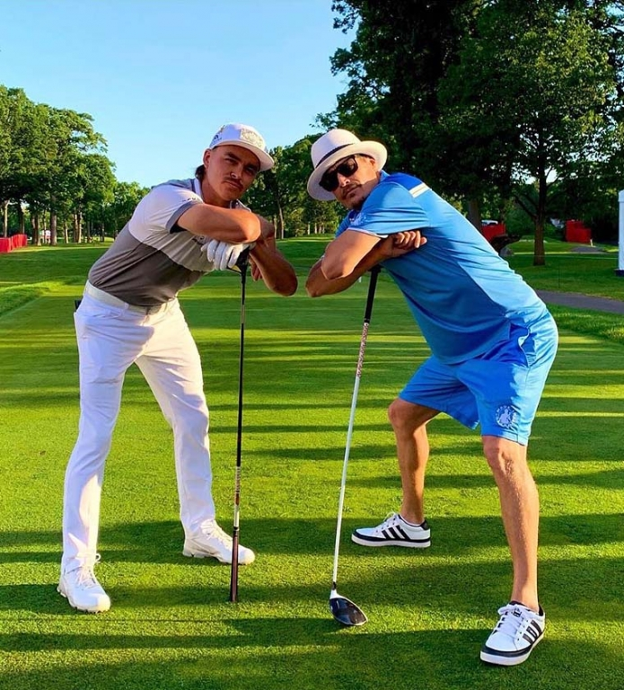Rickie Fowler and Kid Rock