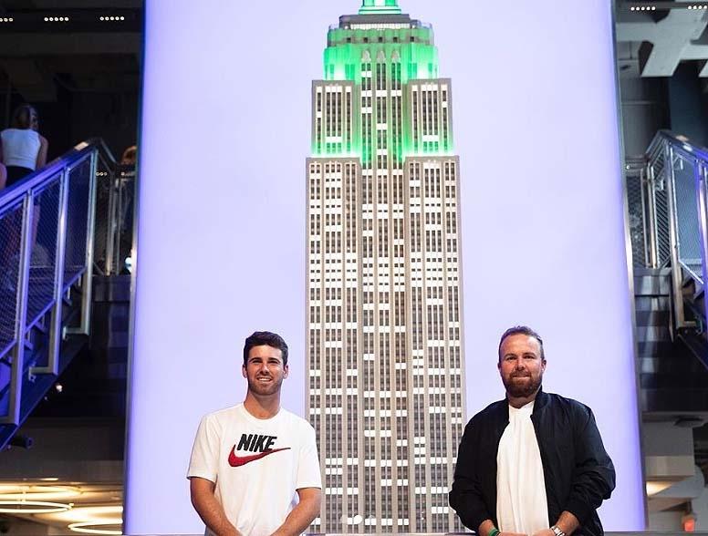 Matthew Wolff and Shane Lowry
