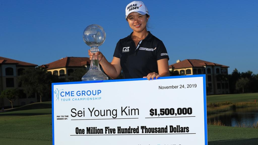 CME Group Tour Championship: Sei Young Kim