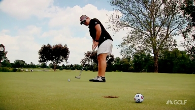 PGA Professional Brittany Kelly refuses to let cancer break her