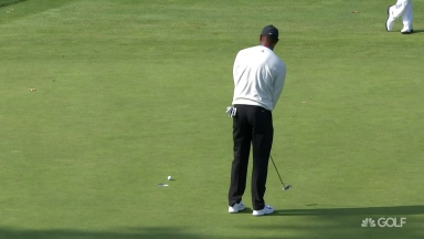 U.S. Open Day 2: Tiger misses short bogey putt on No. 16