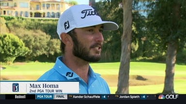 Homa bests Finau in playoff to win The Genesis Invitational